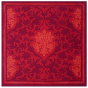 "Serviette de table ""Toscane"" rouge"