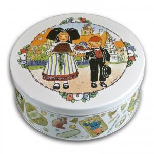 "Boîte ronde à Biscuits - Hansi ""Kougelhopf"""