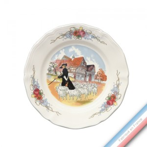 Collection OBERNAI - Assiette dessert - Diam  20,5 cm - Lot de 6
