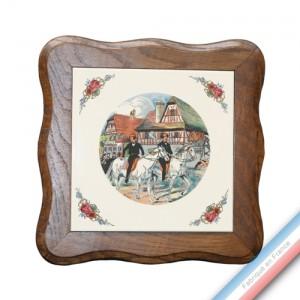 Collection OBERNAI  - Dessous Plat avec entour. - 20 x 20 cm -  Lot de 1