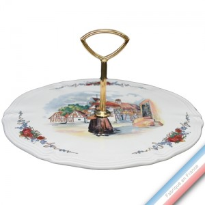 Collection OBERNAI  - Plat à fromage - D. 29.5 cm -  Lot de 1