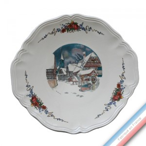 Collection OBERNAI  - Plat gâteau - Diam  29 cm -  Lot de 1
