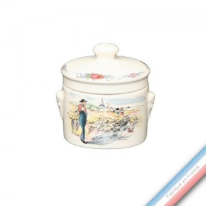Collection OBERNAI  - Terrine ronde 9 - 284/300 mL -  Lot de 1