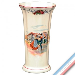 Collection OBERNAI  - Vase à Côtes 'Moyen' Louis XV - H 27 cm -  Lot de 1