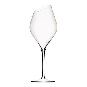 """6 Verres à vin """"OBLIQUE"""" 40 cl - soufflé bouche"""