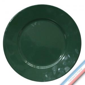 Collection REVERBERE table  - Assiette présentation ronde Bouteille - Diam  31 cm -  Lot de 1