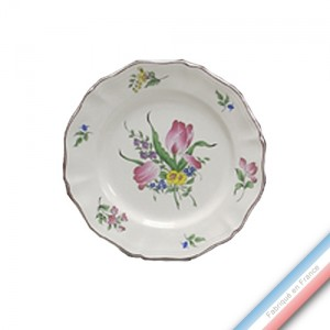 Collection REVERBERE table  - Assiette plate - Diam  25 cm -  Lot de 4