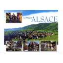 "Carte postale - ""Villages d'Alsace"""