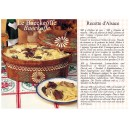 Postcard alsatian recipe - &quot;Le baeckeoffe&quot; - (baeckeoffe)