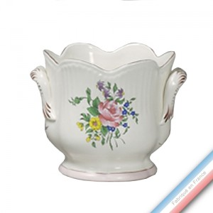 Collection REVERBERE déco  - Cache pot 'Grand' Louis XV - H 19 x D20 cm -  Lot de 1
