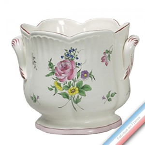 Collection REVERBERE déco  - Cache Pot Super T Louis XV - H 27 x D28 cm -  Lot de 1