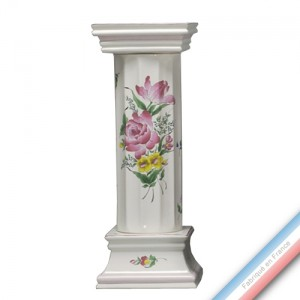 Collection REVERBERE déco  - Colonne corinthé - H 68 cm -  Lot de 1