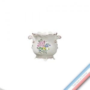 Collection REVERBERE déco  - Jardinière Ronde a Griffes  'Petit' Louis XV - H 11 cm -  Lot de 1