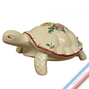 Collection REVERBERE déco  - Tortue sur pattes - L 17 cm -  Lot de 1