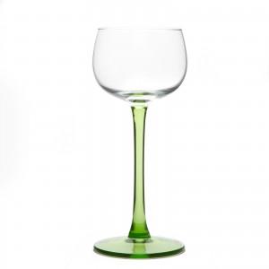 6 verres à vin blanc d'Alsace