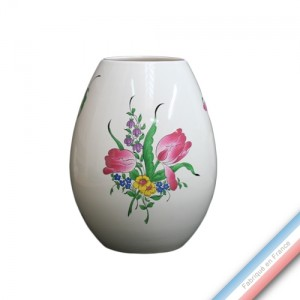 Collection REVERBERE déco  - Vase oeuf 'Moyen' - H 22 cm -  Lot de 1