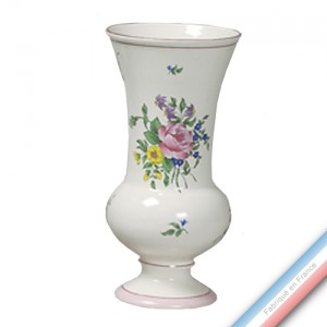 Collection REVERBERE déco  - Vase à Pied EVase Louis XV - H 29.5 cm -  Lot de 1