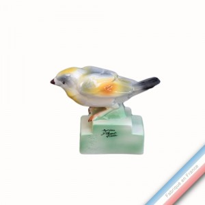 Collection BARBOTINES  - Oiseau bruant - H 10,5 cm -  Lot de 1