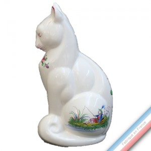 Collection CHINOIS - Chat 'Moyen' - H 22 cm x 11 cm -  Lot de 1