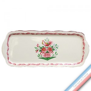 Collection REVERBERE COQ - Plat cake Louis XV - 38,5 x 16 cm -  Lot de 1