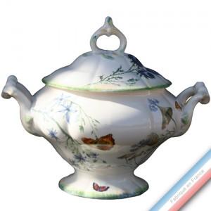 Collection FOLIES BOTANIQUES - Soupière renaissance Louis XV - 3 L -  Lot de 1