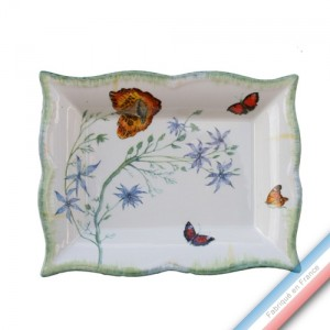 Collection FOLIES BOTANIQUES - Vide poche rectangle - 21 x 17 cm -  Lot de 1