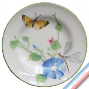 Collection VENT DE FLEURS - Assiette mini  - Diam  10 cm -  Lot de 4