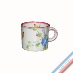Collection VENT DE FLEURS - Mini mug - H 7 cm - 21 cl -  Lot de 4