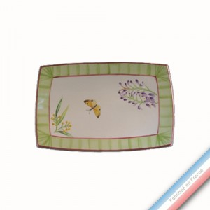 Collection VENT DE FLEURS - Ravier - 21 x 14 cm -  Lot de 2