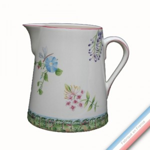 Collection VENT DE FLEURS - Pot conique 1 - H 20 cm - 2 L -  Lot de 1