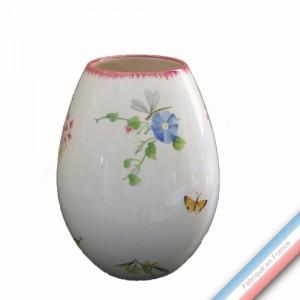 Collection VENT DE FLEURS - Vase oeuf 'Moyen' - H 22 cm -  Lot de 1