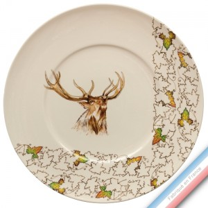 Collection CHAMBORD - Plat plat - Diam  32,7 cm -  Lot de 1