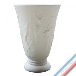 Collection CHAMBORD - Vase cerf - H 36 x D 24 cm -  Lot de 1