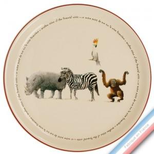 Collection POINT DE VUE ECLAIRE - Plat tarte - Diam  32 cm -  Lot de 1