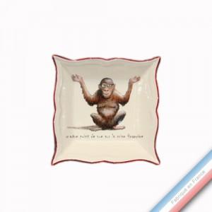 Collection POINT DE VUE ECLAIRE - Vide poche carre - 12 x 12 cm -  Lot de 1