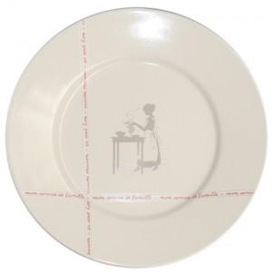 Collection SERVICE DE FAMILLE - Assiette présentation - Diam  32 cm -  Lot de 1