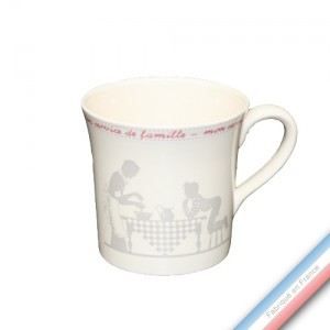 Collection SERVICE DE FAMILLE - Mug - 0,35 L -  Lot de 4