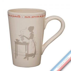 Collection SERVICE DE FAMILLE - Mug XL - 0,60L -  Lot de 2