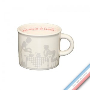 Collection SERVICE DE FAMILLE - Mini mug - 0,21 L -  Lot de 4
