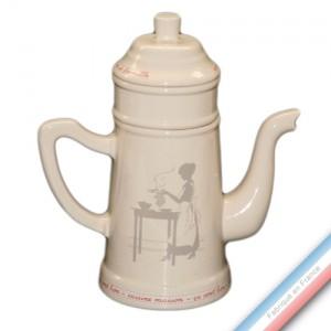 Collection SERVICE DE FAMILLE - cafetière avec filtre - 1 L -  Lot de 1