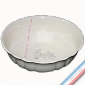 Collection SERVICE DE FAMILLE - Saladier 'Grand' - Diam 27 cm -  Lot de 1