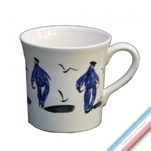 Collection BLEU SALE - Mug  - 0.35 L -  Lot de 4