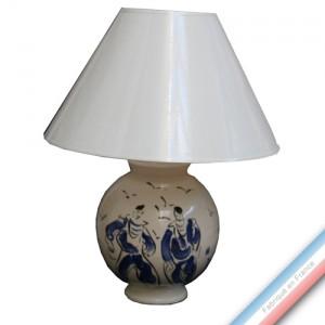 Collection BLEU SALE - Lampe boule - H 50 cm -  Lot de 1