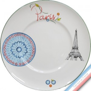 Collection PARIS - Plat plat - Diam  32,7 cm -  Lot de 1