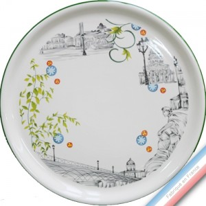 Collection PARIS - Plat tarte - Diam  32 cm -  Lot de 1