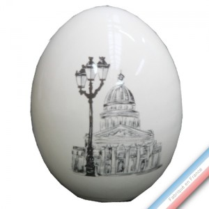 Collection PARIS - Oeuf 'Petit' - H 7,5 cm -  Lot de 1