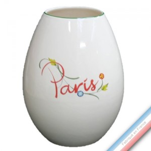 Collection PARIS - Vase oeuf 'Moyen' - H 22 cm -  Lot de 1
