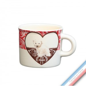 Collection DENTELLES - Mini mug - 0,21 L -  Lot de 4