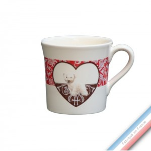 Collection DENTELLES - Mug - 0,35 L -  Lot de 4