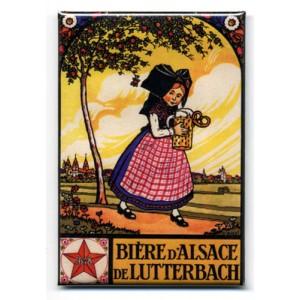 Magnet Hansi 'Bière de Lutterbach'